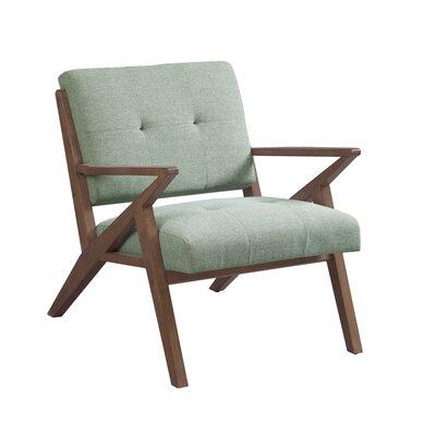 Alvarado Armchair Upholstery: Fern green