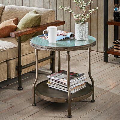 Celestiel Round End Table
