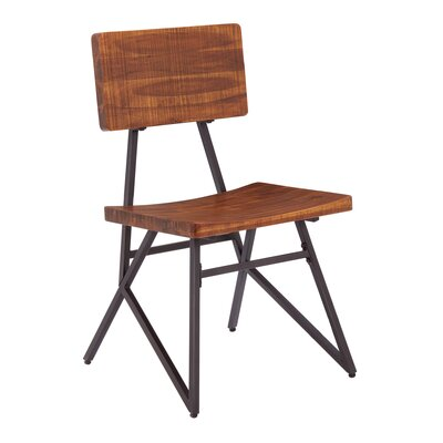 Trestle Solid Wood Dining Chair