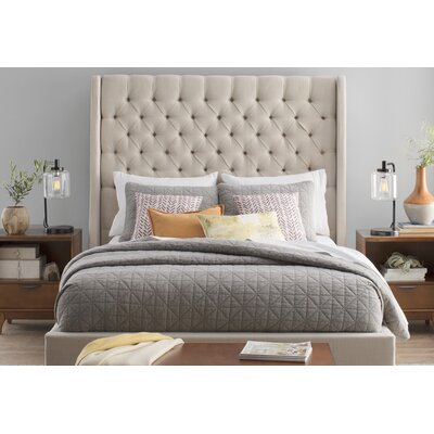 Morris Cotton 3 Piece Coverlet Set Size: King/California King, Color: Gray