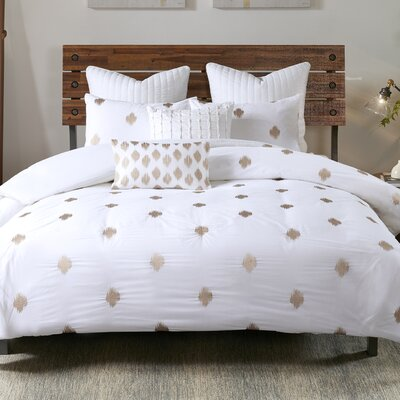 Stella Dot 3 Piece Duvet Cover Set Size: King/California King