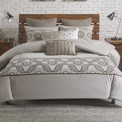 Anira 3 Piece Comforter Set Size: Full/Queen