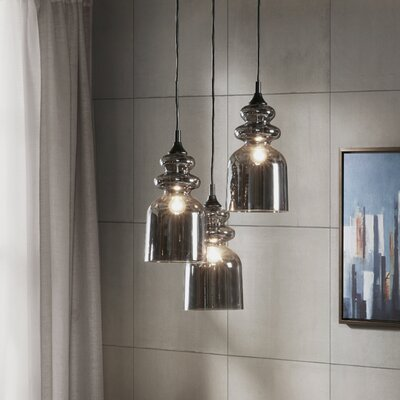 Mason 3-Light Cluster Pendant