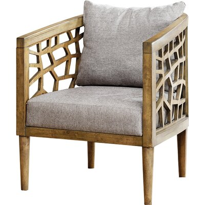 Bobbie Armchair Upholstery: Light Gray