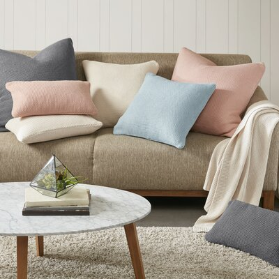 Elliott Knit Oblong Pillow Cover