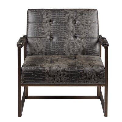 Waldorf Faux Leather Armchair