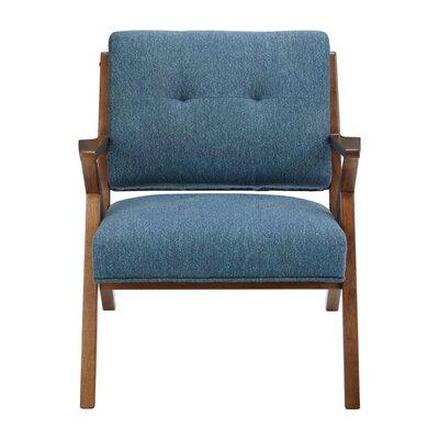 Alvarado Armchair Upholstery: Blue