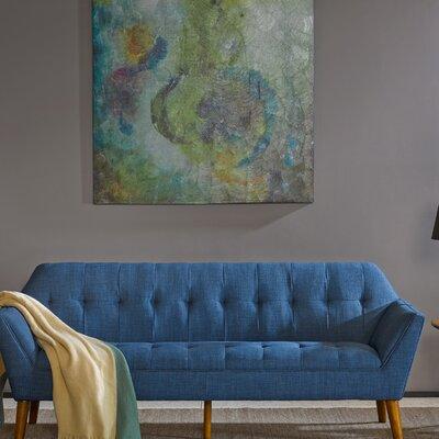 Newport Sofa Color: Blue