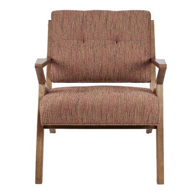 Alvarado Armchair Upholstery: Brown