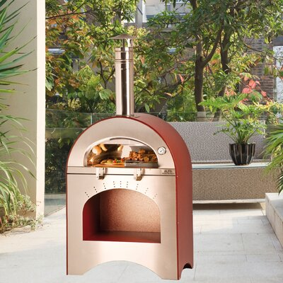 Alfa Pizza Forno Pizza and Brace Wood Burning Pizza Oven
