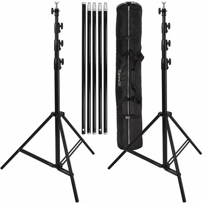 Photo Video Backdrop Stand Set