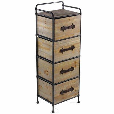 Entrada Storage 4 Drawer Chest