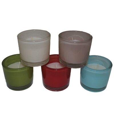Entrada 5 Piece Glass Candle Holder EN29002
