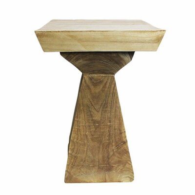 Lovelle Small Wood Side Table