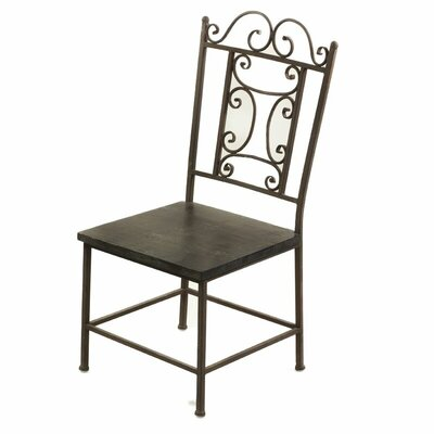 Burke Wooden Side Chair