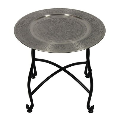 Jorman Moroccan Round End Table