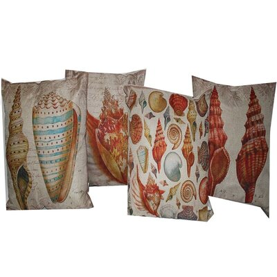 New Orleans 4 Piece Lumbar Pillow Set