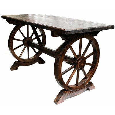 Ravius Wooden Bar Table