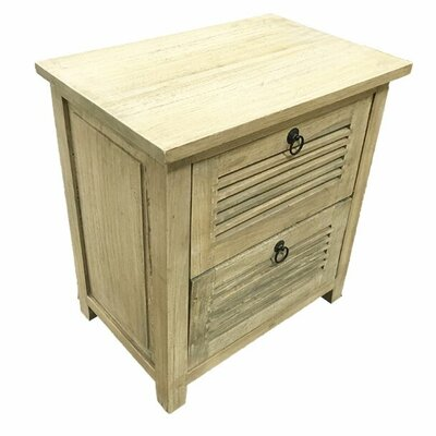Burleigh 2 Drawer Nightstand