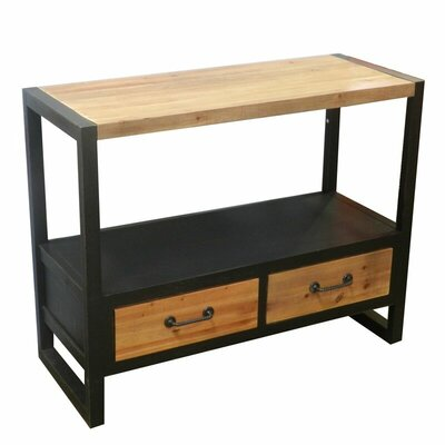 Isacc Wooden Console Table
