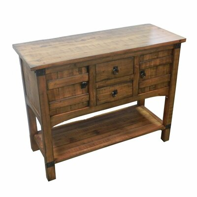 Abha Wooden Kitchen Console Table