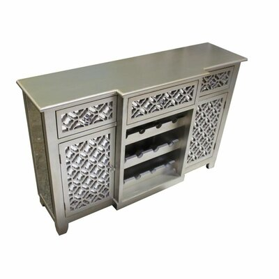 Bethany 12 Bottle Floor Wine Cabinet
