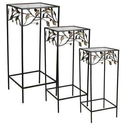 Coombs 3 Piece Metal Nesting Table Set