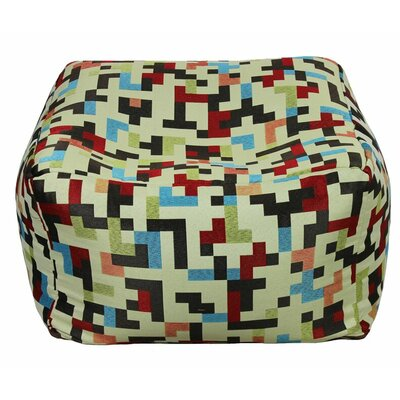 Chaida Fabric Pouf