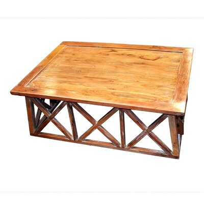 Mathewson Wooden Coffee Table