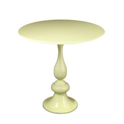 Antunez Metal End Tables Color: Cream, Size: 18.75 H x 16 W x 16 D