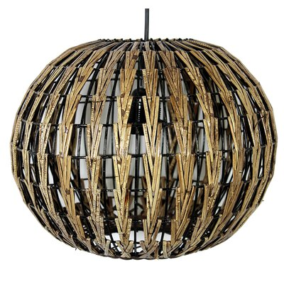 Mortimer Rattan 1-Light Globe Pendant