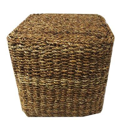 Miner Sea Grass Cube Pouf Ottoman