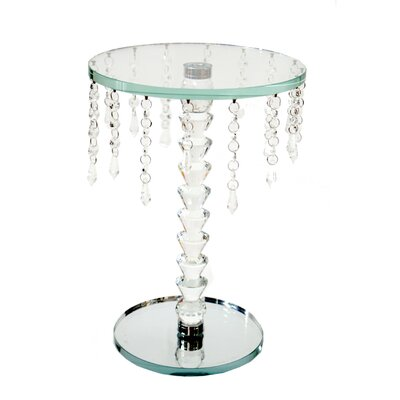 Mcdade Glass End Table