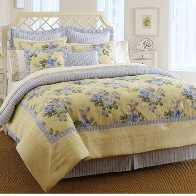 Caroline Reversible Bed-In-A-Bag Set by Laura Ashley Home Size: Twin