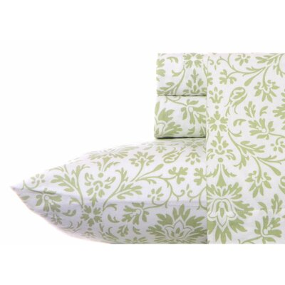 Jayden Flannel Sheet Set by Laura Ashley Home Size: Twin