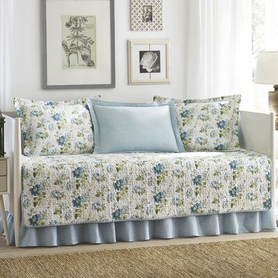 Peony Garden 5 Piece Daybed Set