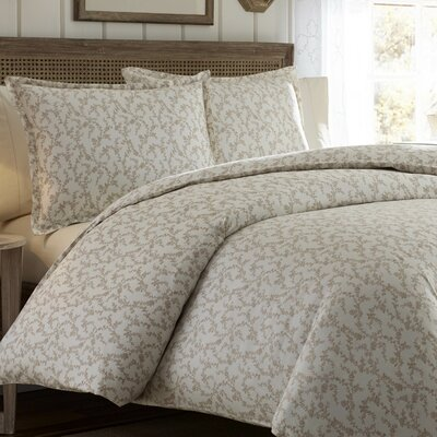 Victoria Reversible Duvet Set by Laura Ashley Home Size: Full/Queen