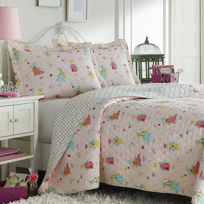 Fun Fairies Quilt Set by Laura Ashley Home Size: Twin