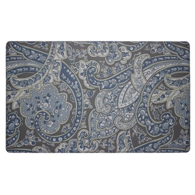 Vanessa Kitchen Mat Color: Navy