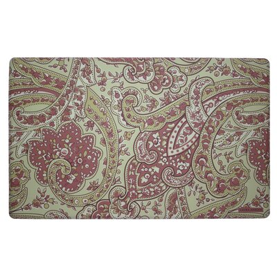 Vanessa Kitchen Mat Color: Rust