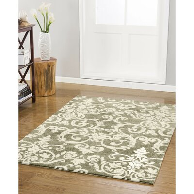 Halstead Taupe Area Rug Rug Size: 2 x 4