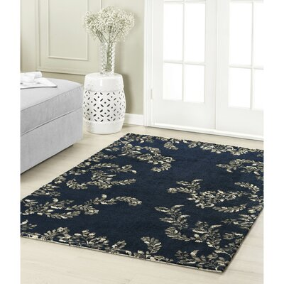 Winchester Navy Area Rug Rug Size: 2 x 3