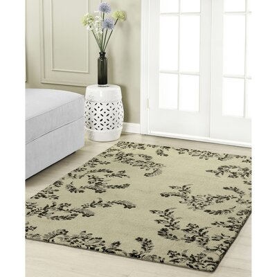 Winchester Taupe Area Rug Rug Size: 2 x 3