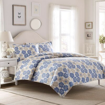 Poppy Duvet Cover Set Size: Twin