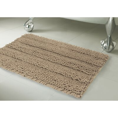Astor Bath Rug Size: 20 X 34, Color: Linen