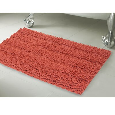 Astor 2 Piece Bath Rug Set Color: Coral