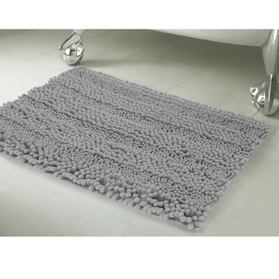 Astor 2 Piece Bath Rug Set Color: Light Gray