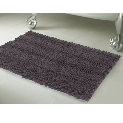 Astor 2 Piece Bath Rug Set Color: Dark Gray