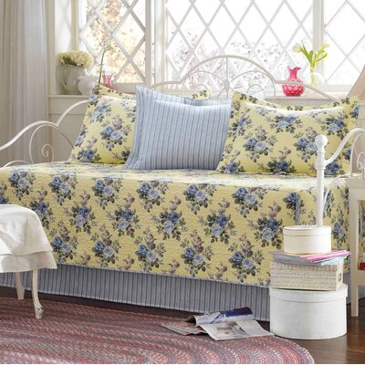 Lillian 5-Piece Cotton Daybed Cover Set by Laura Ashley 204930
