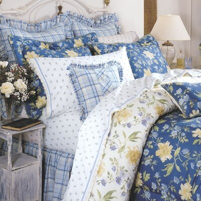 Emilie Bedding Reversible Comforter Set by Laura Ashley Home Size: King
